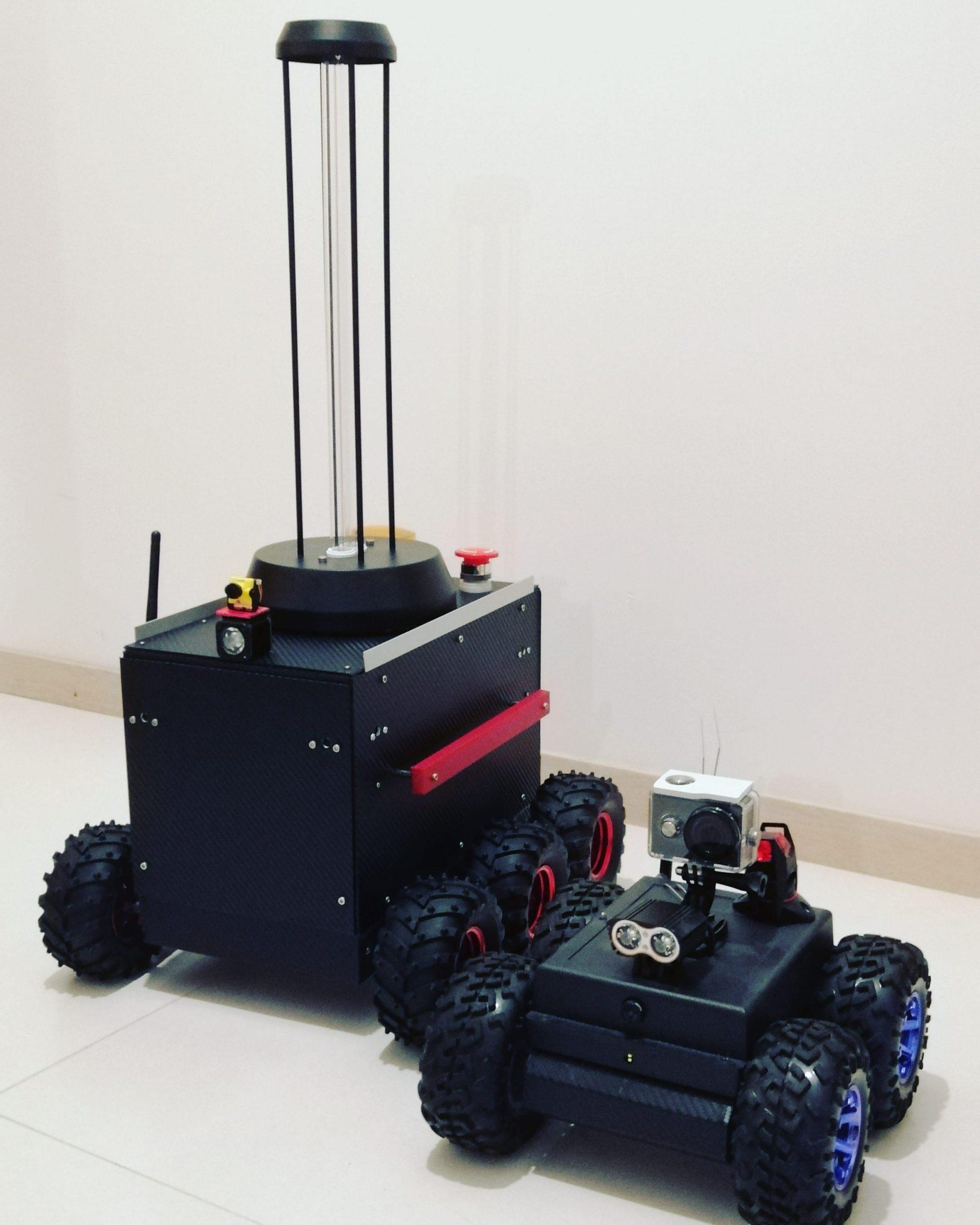 UVC Robots team